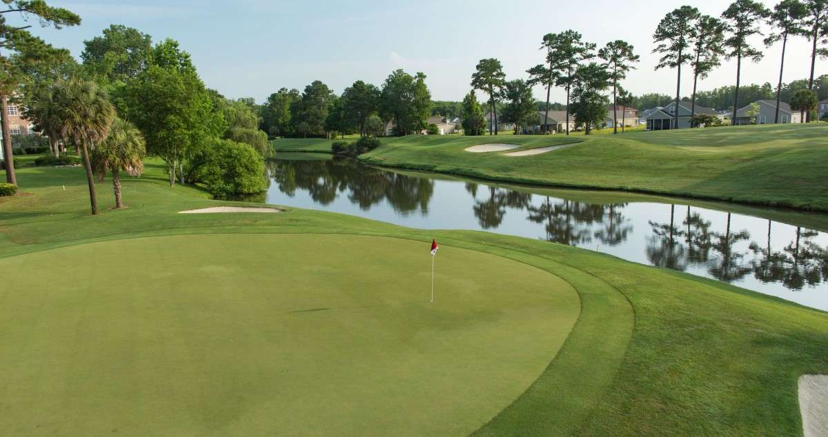Golf course: Arrowhead Country Club, Myrtle Beach