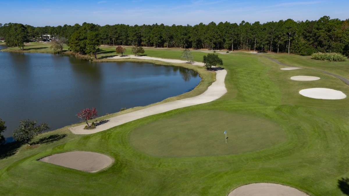 Golf course: MBN South Creek, Myrtle Beach
