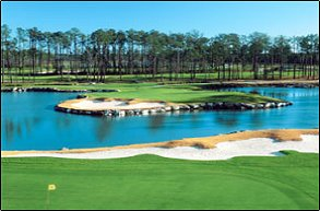 Golf course: Panther's Run, Ocean Isle Beach