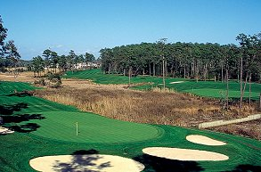 Golf course: Tidewater, North Myrtle Beach