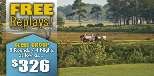 Golf Package: GLEN'S GROUP AWARD WINNING DEAL