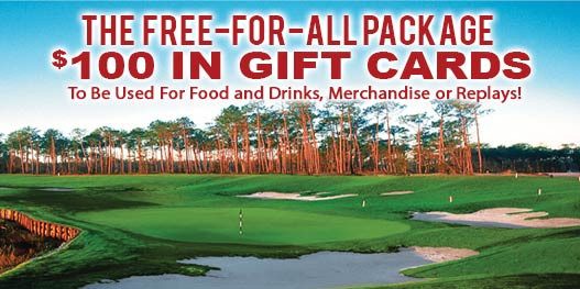 Golf Package: The Most Free Stuff Ever!