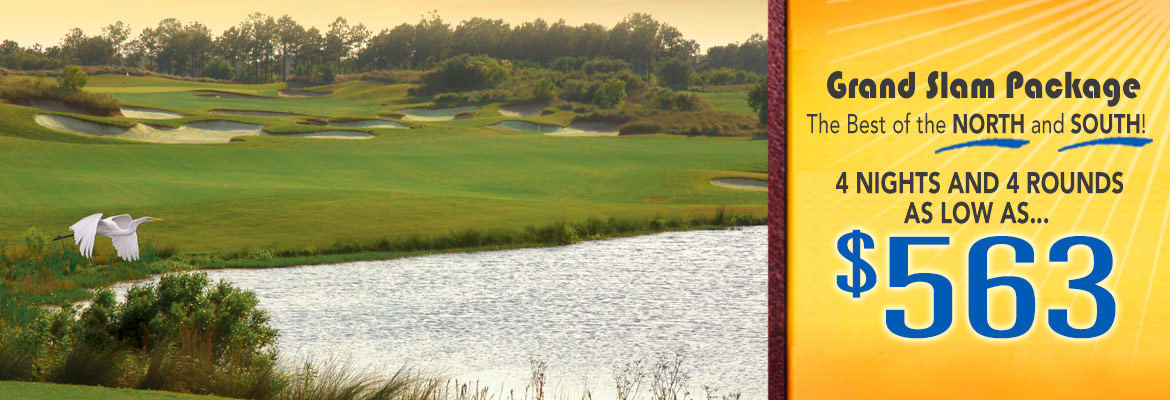 Myrtle Beach golf package specials