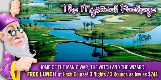 Golf Package: MAJESTICALLY MYSTICAL!