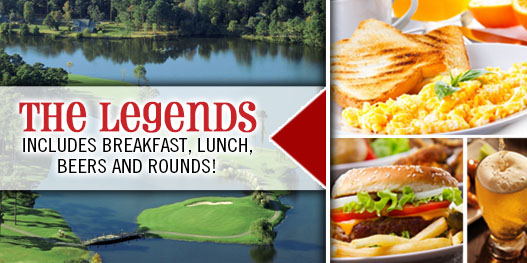 Golf Package: THIS IS ONE LEGENDARY DEAL!