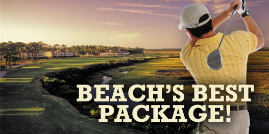 Golf Package: THE BEACH'S BEST COURSES!