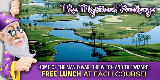 Golf Package: MAGICALLY MYSTICAL!
