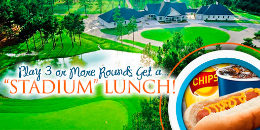 Golf Package: The Stadium LUNCH Package