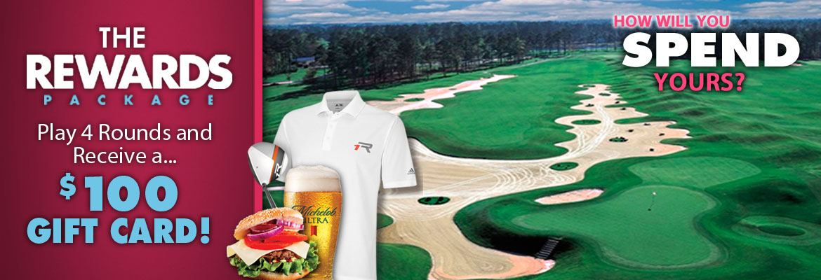 Myrtle Beach Rewards golf package